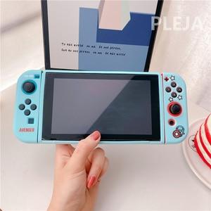 Image 5 - Hoạt Hình Dễ Thương Truyện Tranh Mềm Mại Bảo Vệ Dành Cho Máy Nintendo Switch Dẻo Silicone Dành Cho Niềm Vui Con Bộ Điều Khiển Thời Trang Phụ Kiện Game