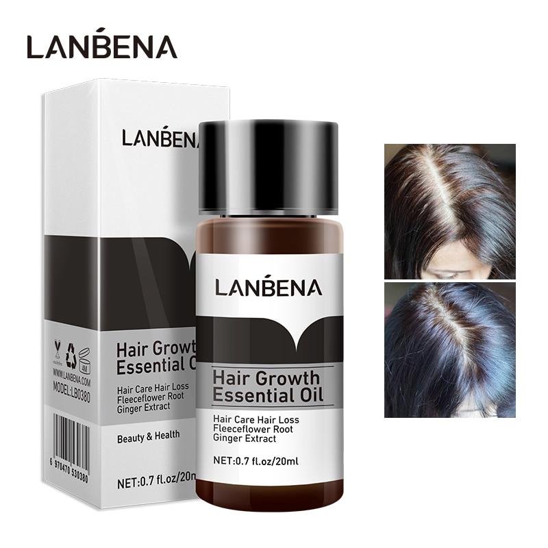 LANBENA szybki potężny produkt esencja na porost włosów olejek leczenie zapobieganie utrata włosów pielęgnacja włosów Andrea 20ml