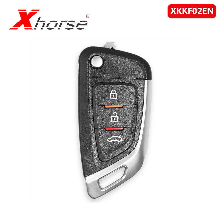 Xhorse XKKF02EN Universal Remote Car Key With 3 Buttons  1Piece