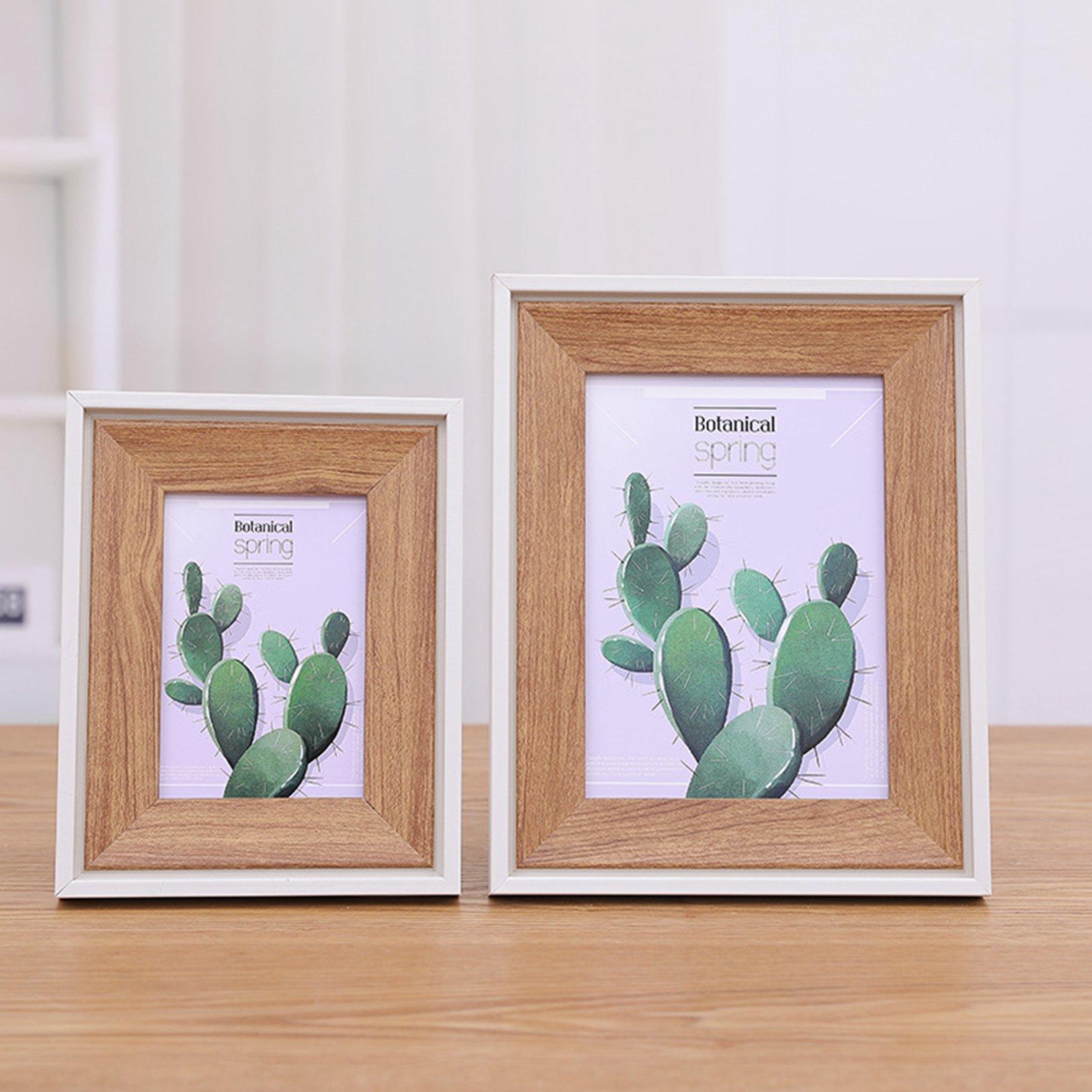 1 Pcs  Resin Table Picture Frames Black Photo Frame Desktop Picture Box for Living Room Crafts Home Bedroom Decor 5/6/7/8 Inch