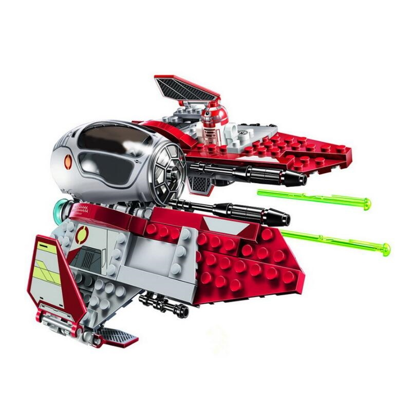 New Star Tie Fighter MicroFighters Wars The Rise of Skywalker With Building Blocks Legoinglys StarWars 75257 Toys For Children 4