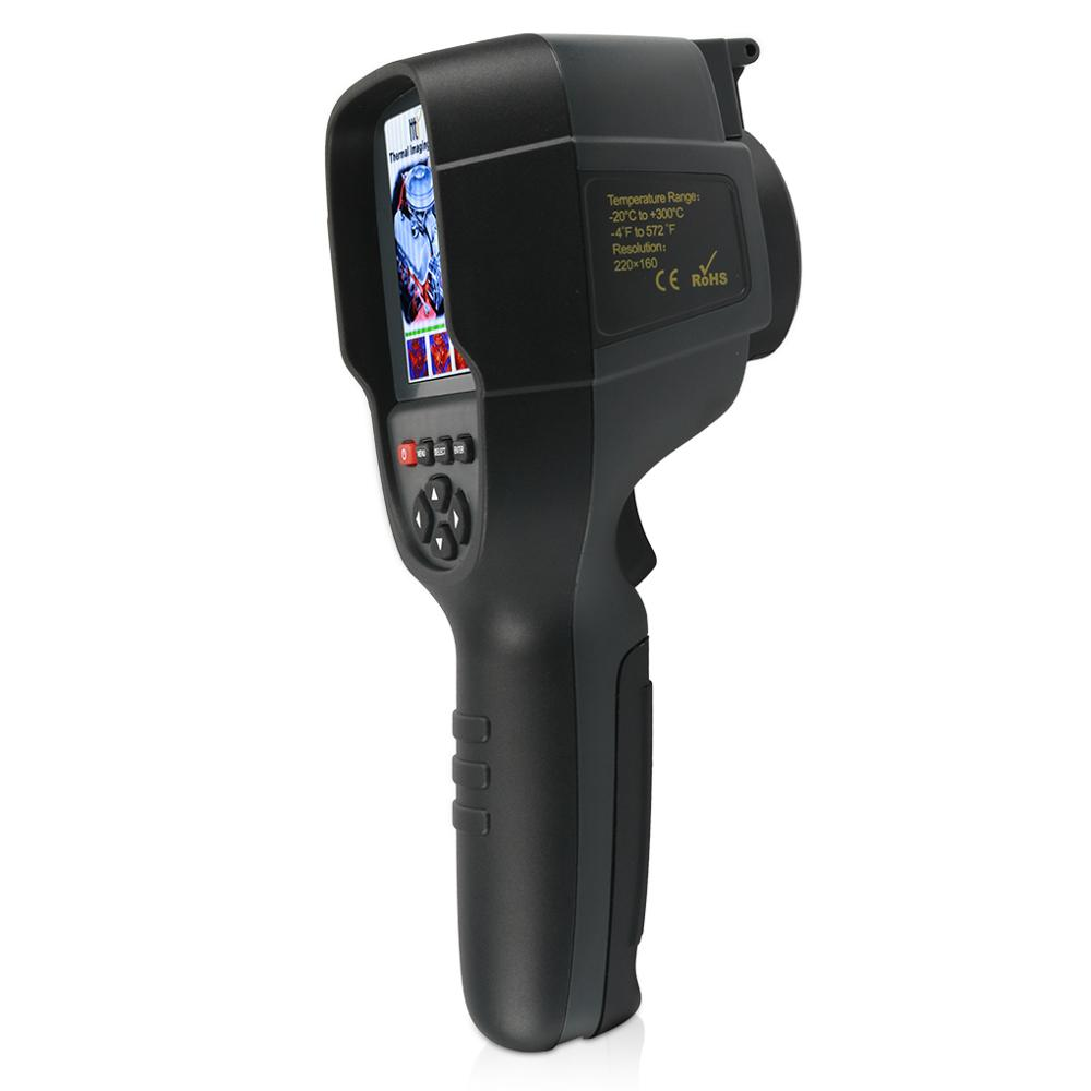 HT02 Digital Infrared Thermography Thermal Camera With 2-4 inch Color Lcd Display 5