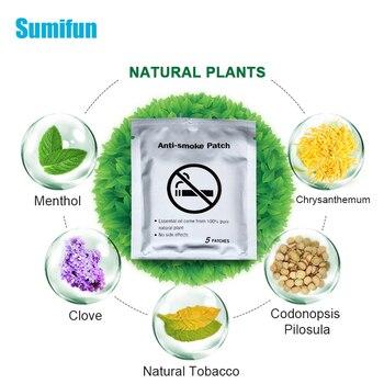 30pcs Sumifun Quit Smoking Patch Stop Smoking Anti Smoke Patch for 100% Natural Ingredient Smoking Cessation Patch D2051