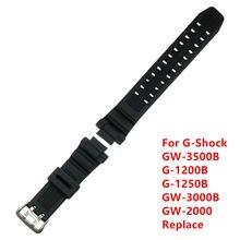 Ремешок для часов резиновая полимерная лента + инструмент g