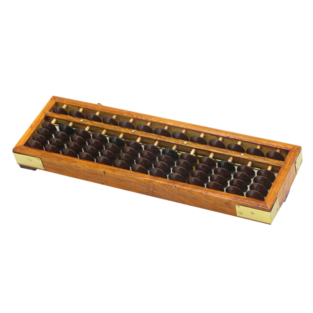 Abacus Classic Accounting Intelligence Kids Educational Toy Wooden Frame Develop Ancient Calculator Mathematics Soroban Bead
