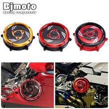 Аксессуары для мотоциклов Для Ducati 1199 Panigale 1199 Panigale R 12-15 части двигателя с ЧПУ гоночная крышка сцепления пружинный фиксатор прозрачный