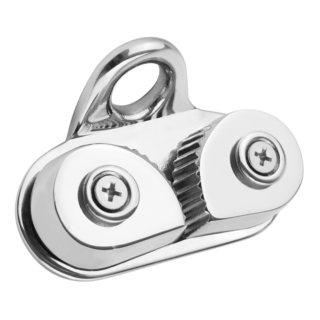 Stainless Steel Cam Cleat With Leading Ring For Boat Marine Sailing Sailboat Kayak Canoe Dinghy, Durable