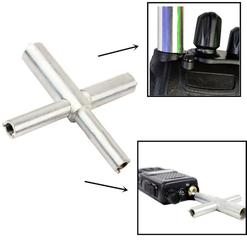 Cross Shaped Repair Tool Destuffing For Kenwood Two Way Radio Walkie Talkie