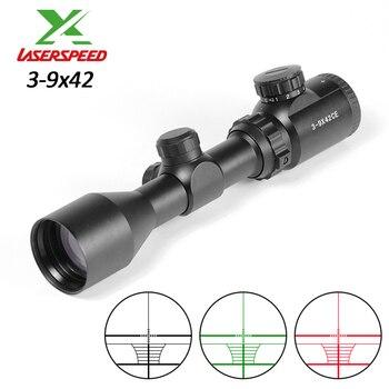 Tactical 3-9x42 Sight Outdoor Hunting 11mm 20mm Rail Mount Scopes For Rifle Air Gun Air Gun Sight