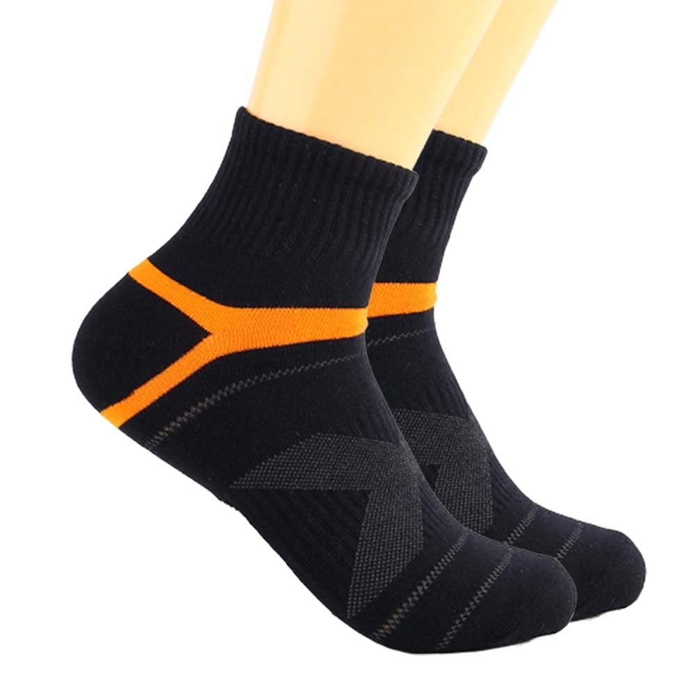 1Pair Mens Business Socks Cycling Solid Breathable Sock Casual Sports Bike Socks