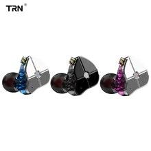 TRN ST1 1BA + 1DD HYBRID Dual DRIVER หูฟังหูฟังหูฟังกีฬา HIFI โลหะ IEM หูฟัง KZZSN Pro CCACA4 NICEHCK DB3