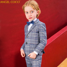 Suit for Boy Single Breasted Boys Suits for Weddings Costume