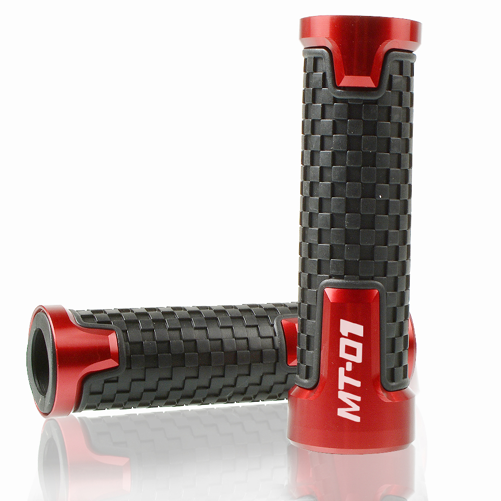 Image 3 - 7/8'' 22mm Motorcycle Accessorie Handle Bar Handbar Handlebar AntiSkid comfort grips Motobike Handle bar Grips For Yamaha MT 01-in Grips from Automobiles & Motorcycles