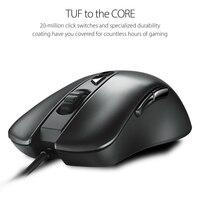 Asus tuf gaming m3 7000 dpi com fio rato rgb luz-emitindo jogo mouse gaming agente m3 mouse