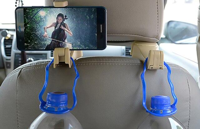 NEW Car Headrest Hook Phone Holder for Lexus RX300 RX330 RX350 IS250 LX570 is200 is300 ls400 CT DS LX LS IS ES RX GS GX-Ser 3