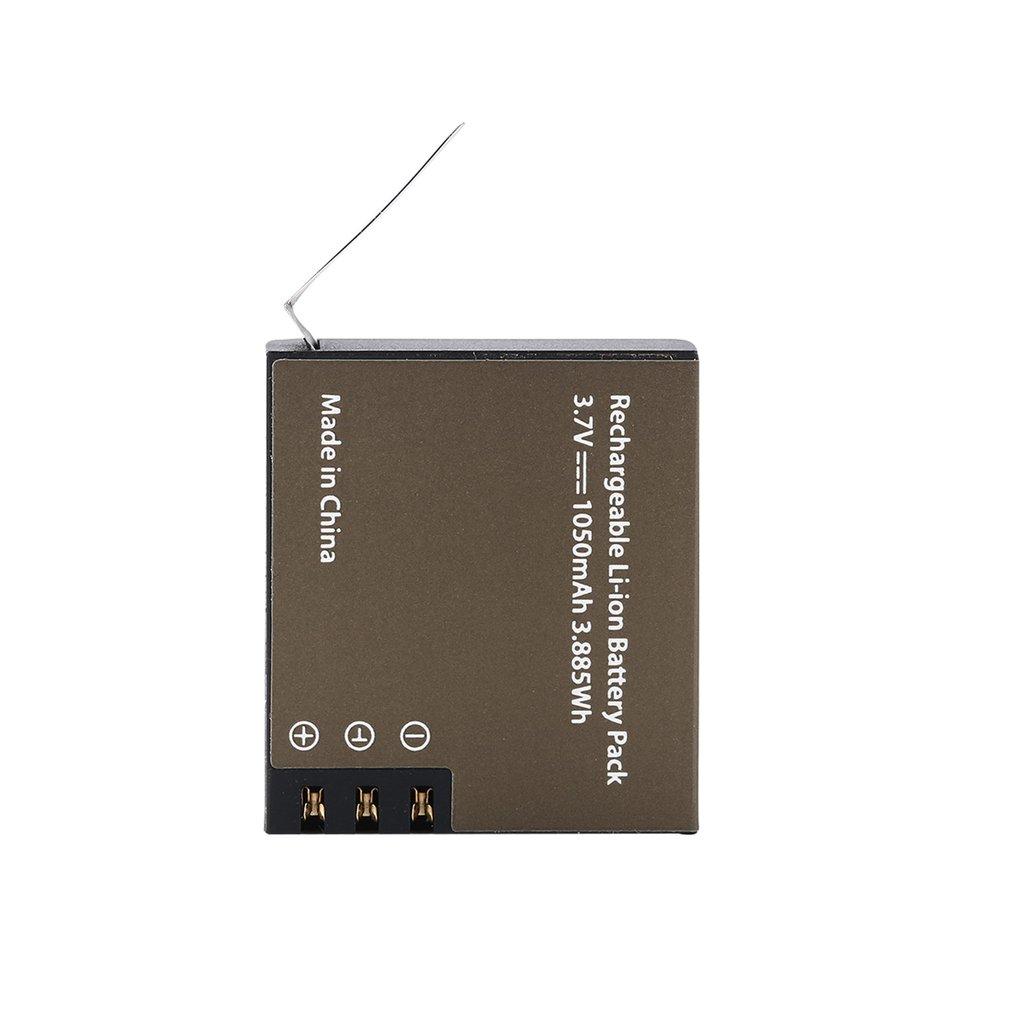 <font><b>PG1050</b></font> Battery 1050mah Rechargeable li-ion Spare Battery for Eken H9 H9R H3 H3R H8R H8 for Sjcam SJ4000 SJ5000 Sport Camera image