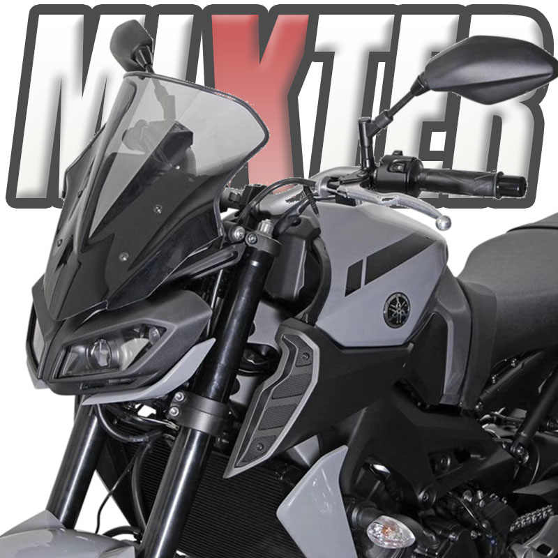 Motorcycle  Shield Screen Windscreen Windshield Yamaha MT-09 FZ-09 14~16