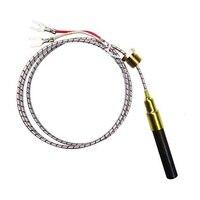 Gerador thermopile da substituição do par termoelétrico de 2 pces para a lareira do gás/calefator de água/gás fr Peças p/ aquecedor elétrico Eletrodomésticos -