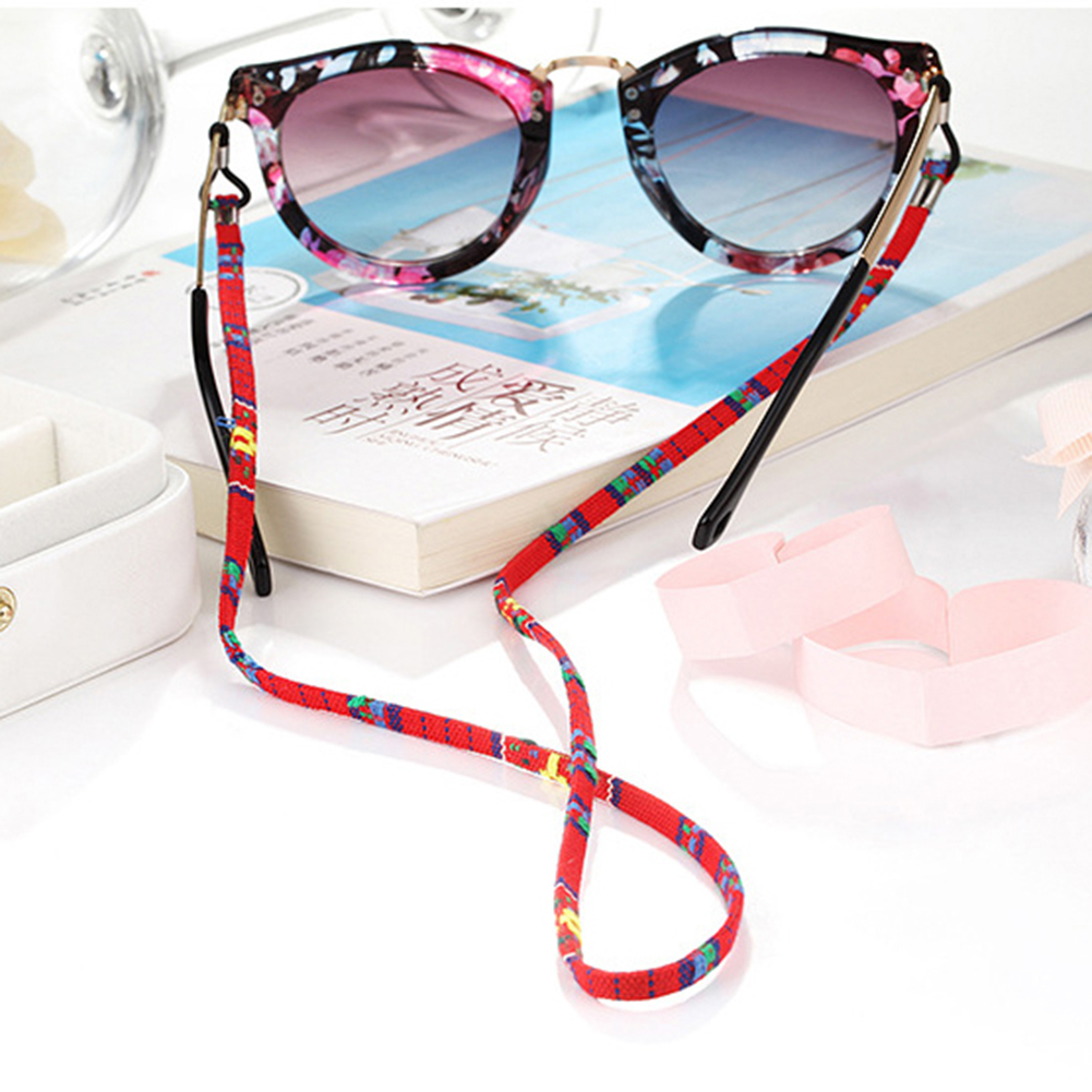 1pc Glasses Wearing Neck Holding Wire Adjustable Sunglasses Neck Cord Strap Convenient Eyeglass Glasses String Lanyard