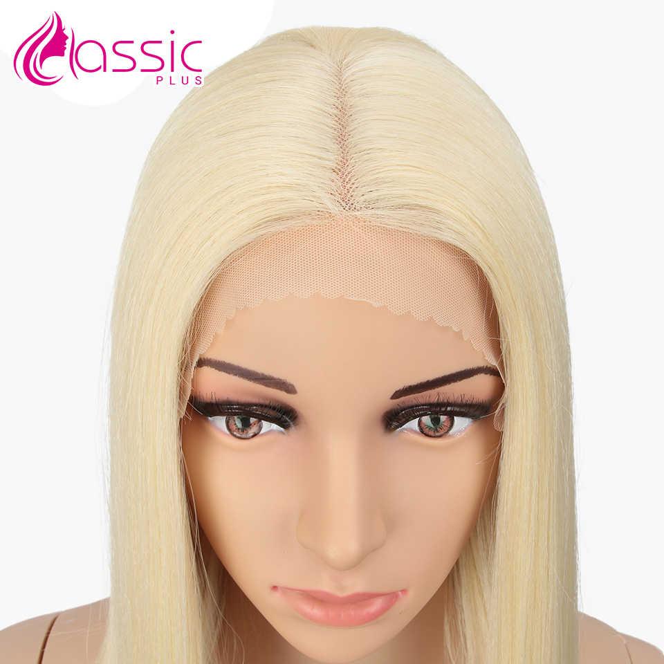 Classic Plus Synthetische 26 Inch Lace Front Haar Pruik Natuurlijke Lange Rechte Pruik Blond Rood Zwart Lace Front Haar Pruik hittebestendige