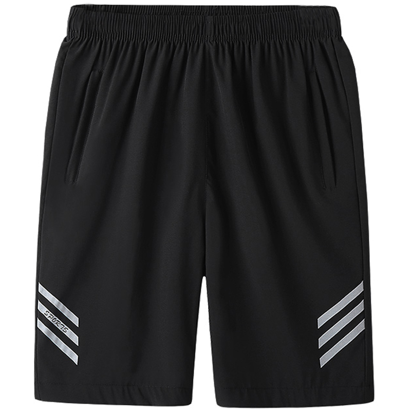 Big Size L-8XL Striped Men Shorts Quick-dry Fitness Workout Jogger Sweatpants Breathable Trouser Male Running Shorts Sportswear