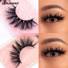 Mink-Eyelashes LEHUAMAO Natural Long-Lasting Extension-Thick Dramatic 3D 5D