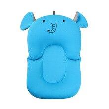 Cushion-Protection Shower-Mat Air-Cushion Foldable Newborn-Baby Non-Slip