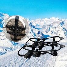 Универсальная зимняя обувь для ходьбы по снегу, альпинизму, альпинизму, треккингу, скобы, 24 зуба, шипы, ледяной захват, портативный, для спорта на открытом воздухе