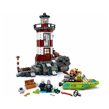 Haunted Lighthouse The Mystery Machine Bus Building Blocks Compatible 10431 Brick Toys Kid Gift