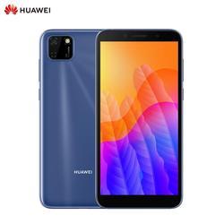 Téléphone intelligent d'origine Huawei Y5P 2GB RAM + 32GB ROM 5.45 pouces EMUI 10.1 3020 mAh téléphone portable 8 MP + 5 MP appareil photo téléphone portable