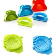 Новая простая пластиковая для вареников инструмент Jiaozi производитель устройство DIY Плесень Кухня Горячая хорошее качество