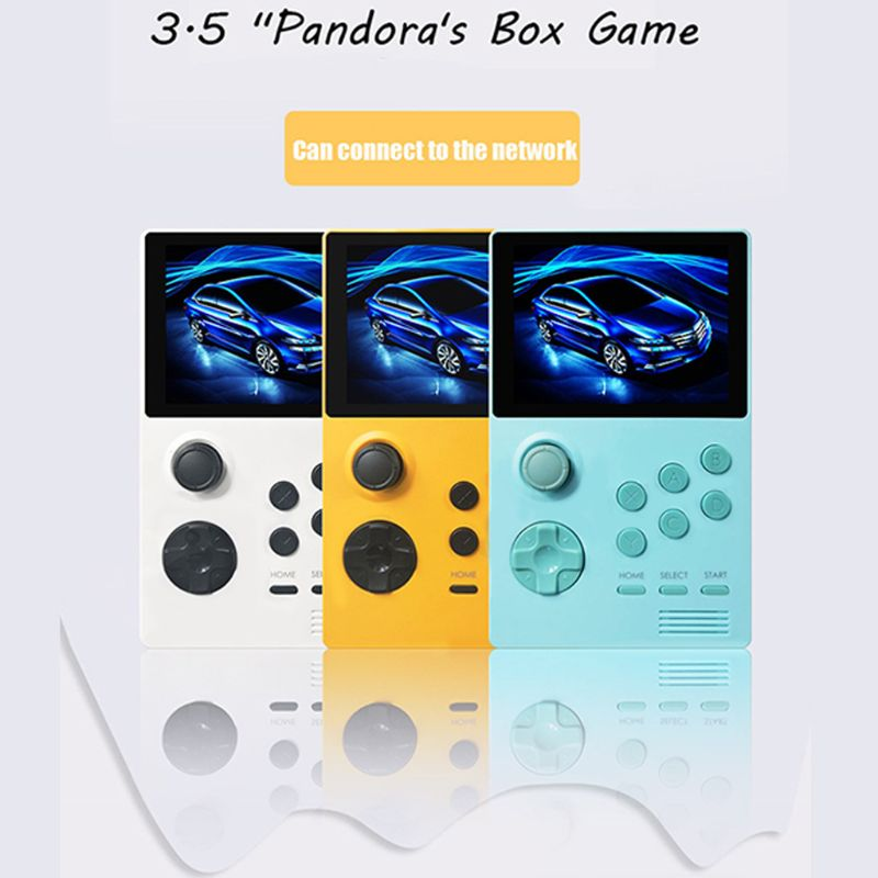 POWKIDDY A19 Retro Handheld Game Console Android Supretro IPS Screen Built-in 3000+games 30 3D Games WiFi Downlo Retroid Pocket