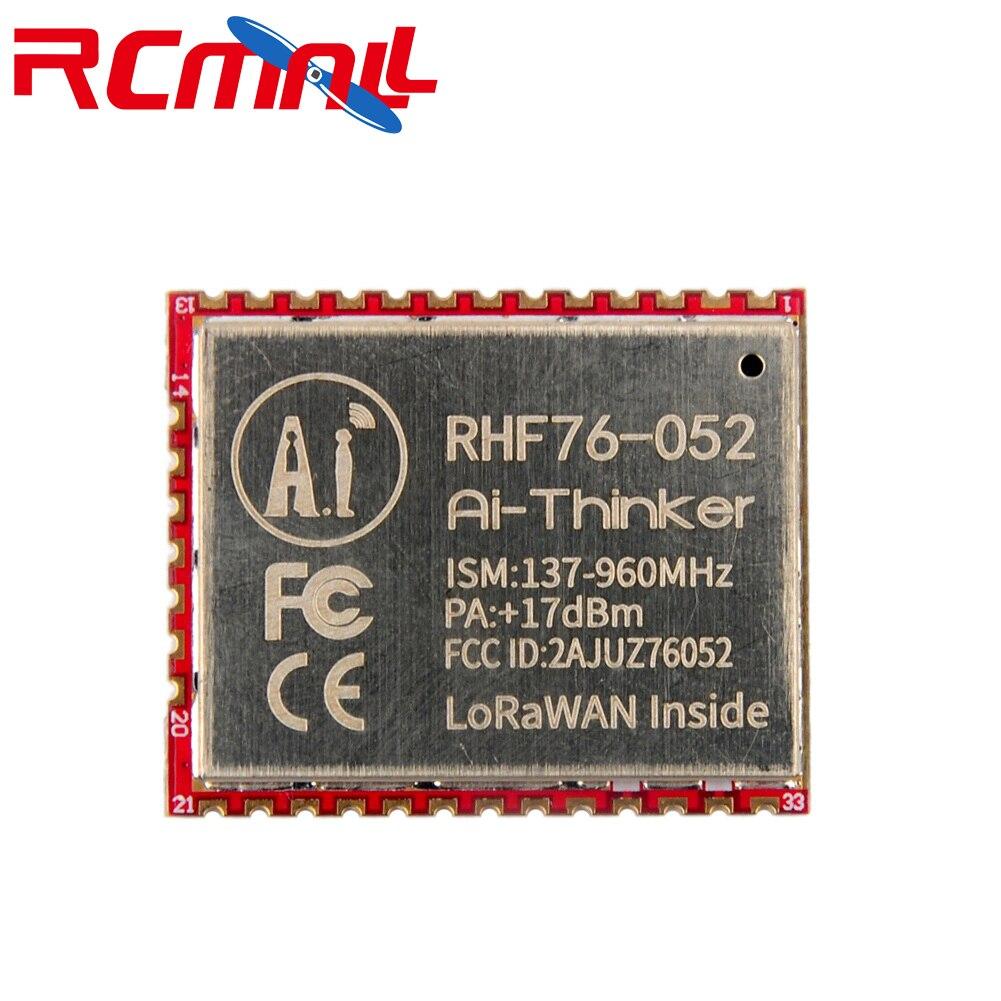 SX1276 RHF76-052 LoRa Module 433MHz 470MHz 868MHz 915MHz LoRaWAN Wifi Transceiver Module STM32L052C8T6 15Km Long Range FZ2853
