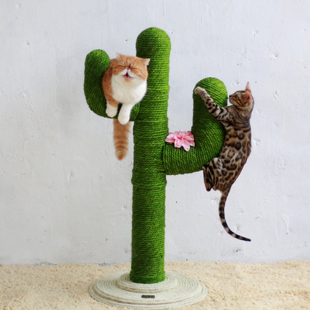 Sisal Rope For Cat Tree Cat Climbing Frame DIY Cats Scratching Post Toys Cat Sharpen Claw Desk Legs Binding Rope(China)
