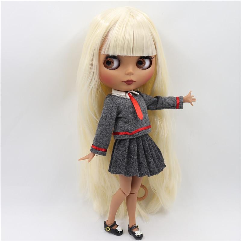 Eddey – Premium Custom Blythe Doll with Cute Face 1