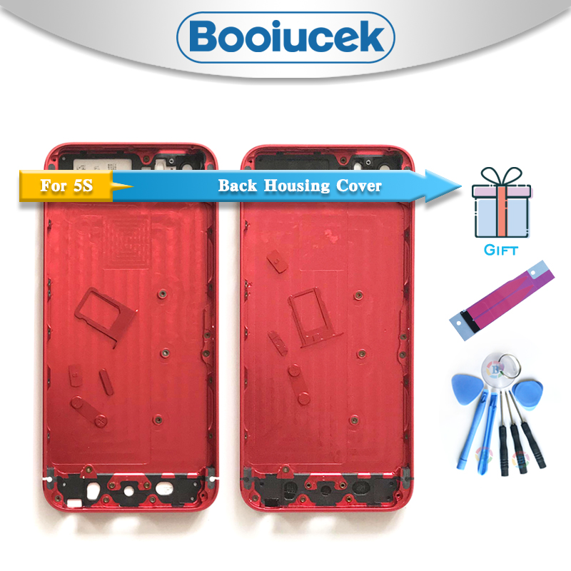 High Quality For IPhone 5 5G Or 5S SE Housing Battery Cover Door Rear Chassis Frame Back Cover + Battery Sticker Tool