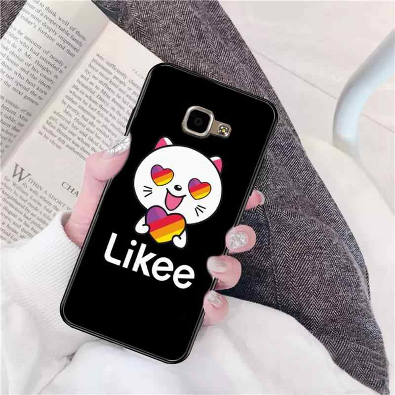 FHNBLJ Likee Kucing Lucu Beruang Cinta Hati DIY Cetak untuk Samsung A10 20S 71 51 10 S 20 30 40 50 70 A30s A91 A31
