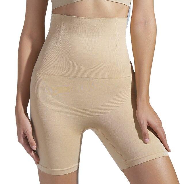 SH-0012 High Waist Non-slip Shaper Shorts Large Size Shapewear Underwear 1