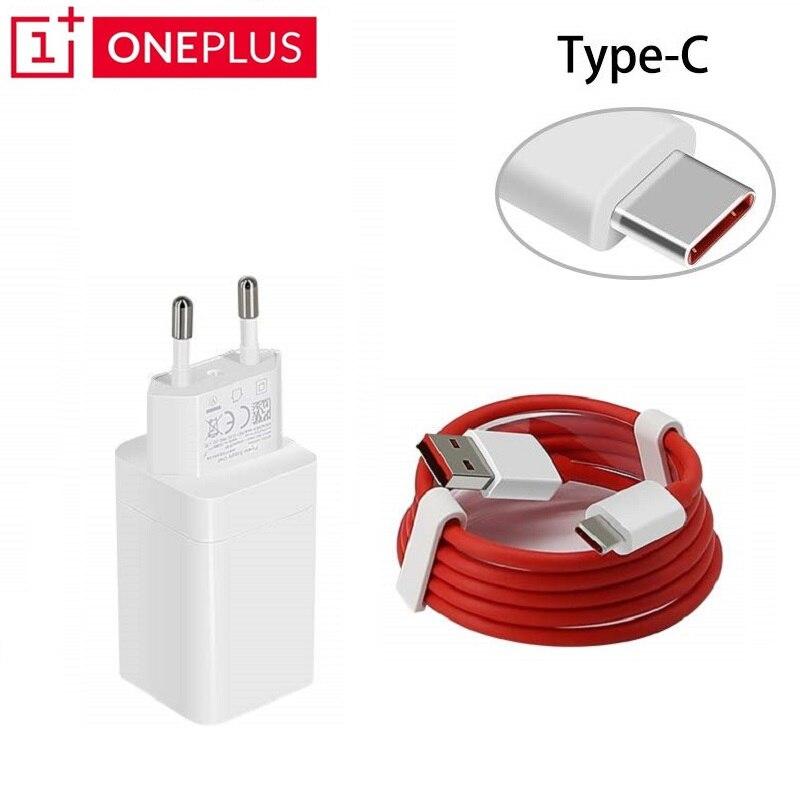 Original ONEPLUS EU Dash charger 5 V/4A Snel opladen USB muur power Adapter Platte Ronde kabel voor Oneplus 3 3 T 5 5 T 6 6 T