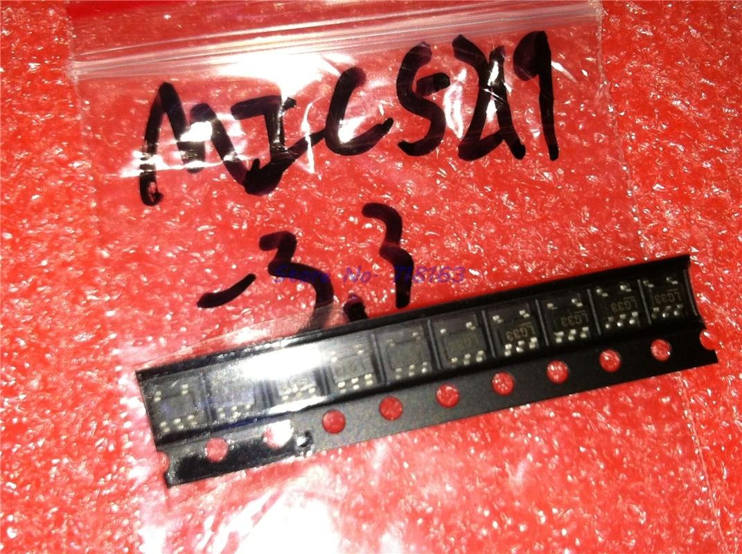 10pcs/lot MIC5219-3.3BM5 SOT23 MIC5219-3.3 SOT MIC5219 3.3V LG33 SMD In Stock