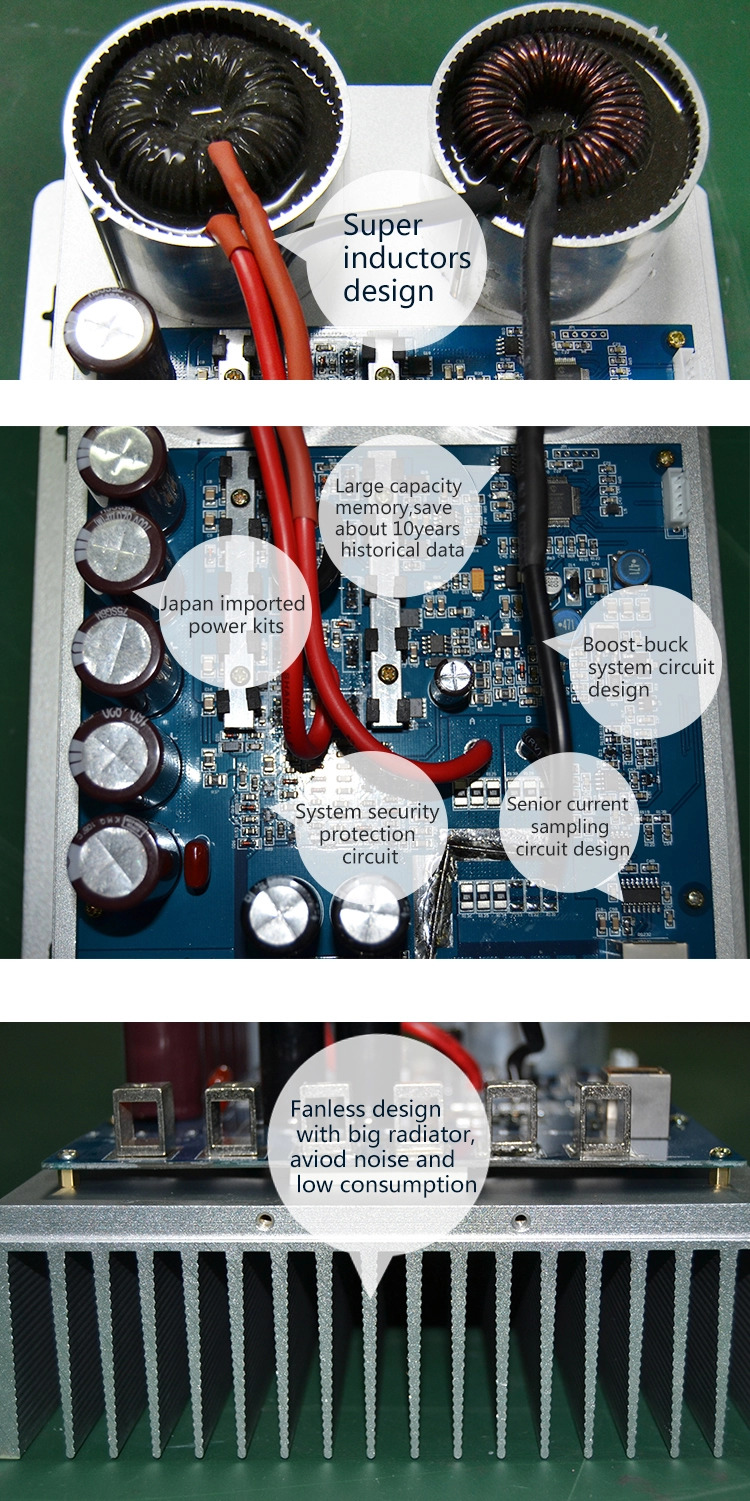 H0ed13920cda643b4be6b6dcf0c504216o - Blue Color 30A MPPT Solar Charge Controller with APP/WiFi Monitoring
