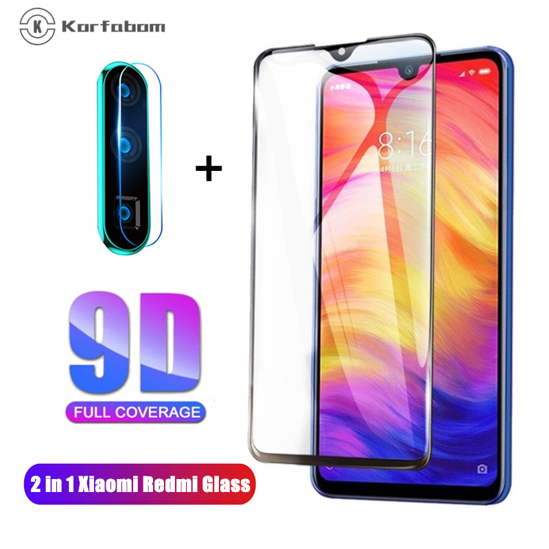 9D Tempered Glass For Xiaomi Cc9 9T Pro A3 Redmi 8 8A Full Cover For Redmi Note 7 8 Pro 8T Screen Protector Toughened Film