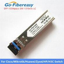 Модуль переключателя SFP, однорежимный дуплексный модуль 100Base LX SMF 1310 нм 20 км LC разъем SFP модуль оптоволоконного оборудования модуль переключателя SFP