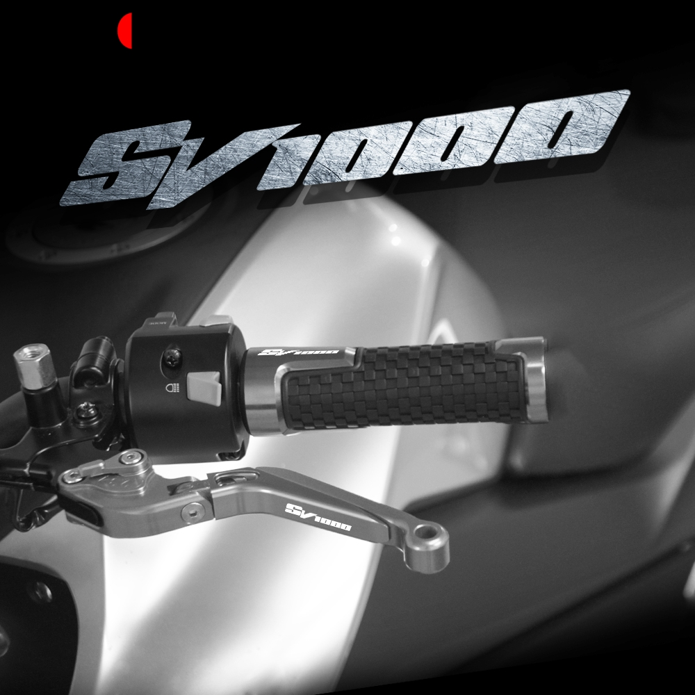 For <font><b>Suzuki</b></font> <font><b>SV1000</b></font> S Motorcycle Aluminum Brake Clutch Levers & Handlebar Grips SV 1000 S <font><b>2003</b></font> 2004 2005 2006 <font><b>2007</b></font> Accessories image