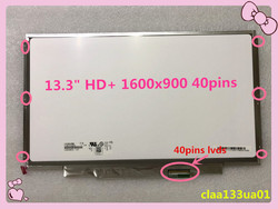 LIVRAISON GRATUITE 13.3 ''pour SONY VPC-SA SB SC SD VPC-SA25 VPC-SA27 CLAA133UA01 1600*900 ÉCRAN LED LCD ÉCRAN HD + 40 broches