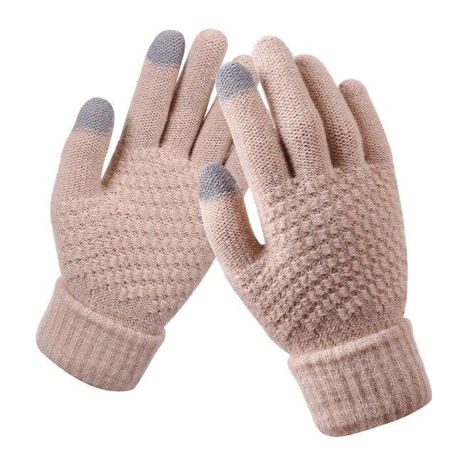 Bright Orange Gloves for Men and Women 2