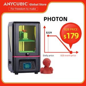 Image 1 - 2019 ANYCUBIC الفوتون DIY 3D طابعة 2.8 اللمس 2K شاشة الراتنج SLA/LCD ضوء الأشعة فوق البنفسجية علاج القطاعة imprimante 3d impresora stampante 3D