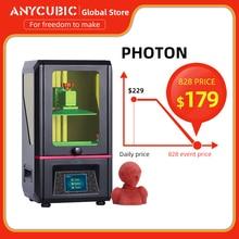 2019 Anycubic Photon Diy 3D Printer 2.8 Touch 2K Scherm Hars Sla/Lcd Uv Light Cure Slicer Imprimante 3d Impresora Stampante 3D