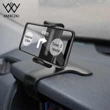 XMXCZKJ HUD Universal Car Dashboard Cell Phone GPS Mount Holder Dashboard Mount Holder For iPhone 11 Pro Max X Clamp Clip Stand xmxczkj mobile phone holder car clip stand universal dashboard desktop mount holder for iphone samsung huawei gps bracket