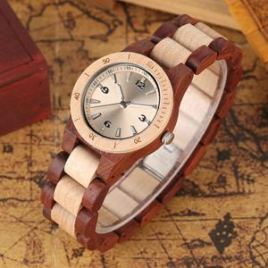 Image 5 - YISUYA Minimalist Fullไม้นาฬิกาผู้ชายผู้หญิงไม้ไผ่สร้อยข้อมือแฟชั่นนาฬิกาข้อมือควอตซ์Handmadeนาฬิกาของขวัญ